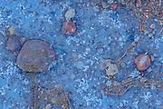 Ice and rocks<br />Sandilands Provincial Park<br />Manitoba<br />Canada