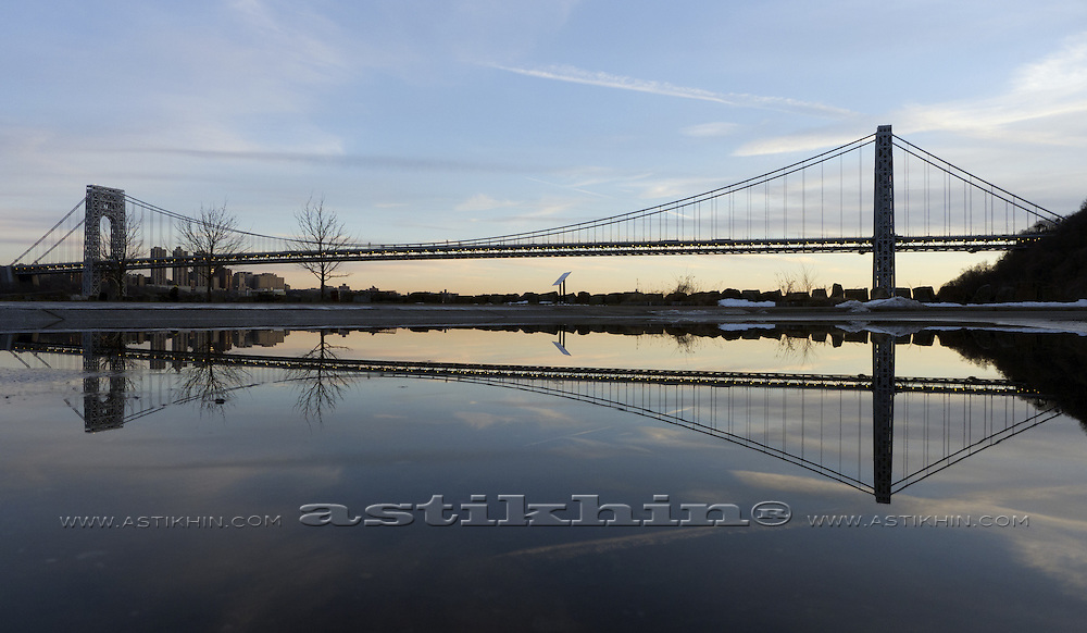 Reflection of GW Bridge