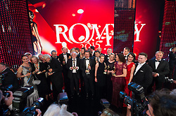 25.04.2015, Hofburg, Wien, AUT, Romy Gala 2015, im Bild Gruppenfoto // during Romy Gala 2015 at Hofburg in Vienna, Austria on 2015/04/25, EXPA Pictures © 2015, PhotoCredit: EXPA/ Michael Gruber