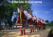 Eastern European costume dance, Eckley Miner's Village ethnic festival