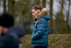 DERBY, ENGLAND - Friday, March 8, 2019: Liverpool's on loan striker to Derby County Harry Wilson watches during the FA Premier League 2 Division 1 match between Derby County FC Under-23's and Liverpool FC Under-23's at the Derby County FC Training Centre. (Pic by David Rawcliffe/Propaganda)