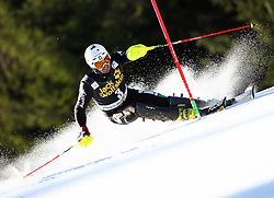THALER Patrick of Italy competes during Men's Slalom - Pokal Vitranc 2014 of FIS Alpine Ski World Cup 2013/2014, on March 9, 2014 in Vitranc, Kranjska Gora, Slovenia. Photo by Matic Klansek Velej / Sportida