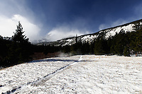 Winter Trail to Storm Pass, Rocky Mountain National Park.