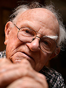 Walter Hill, 93, Tucson, Arizona, USA.