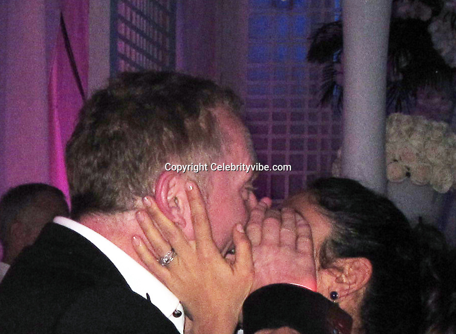 **EXCLUSIVE**Salma Hayek and husband Francois-Henri Pinault.Roman Abramovich New Years Eve Party.Roman Abramovich Villa.St. Barth, Caribbean.Friday, December 31, 2010.Photo By CelebrityVibe.com.To license this image please call (212) 410 5354; or Email: CelebrityVibe@gmail.com ; website: www.CelebrityVibe.com