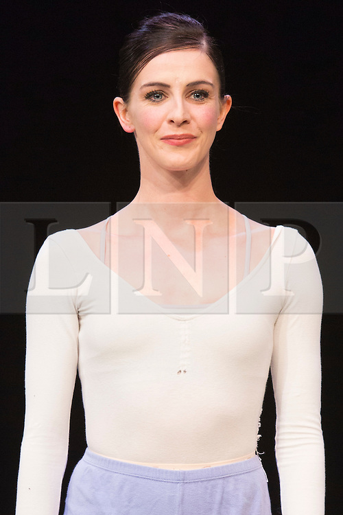 """© Licensed to London News Pictures. 07/08/2015. London, UK. Pictured: Olivia Cowley, Soloist, Royal Ballet who will also perform at """"Dancing for Nepal"""". Members of the New English Ballet Theatre rehearse their forthcoming performances for """"Dancing for Nepal"""" at the Clore Studio/Royal Opera House. From 20-22 August 2015, the New English Ballet Theatre and special guests will perform at St James Theatre to raise funds for the Nepal earthquake relief effort. Photo credit: Bettina Strenske/LNP"""