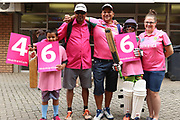 General shots of the ground and warm welcome for the pink ODI  during the One Day International match between South Africa and England at Bidvest Wanderers Stadium, Johannesburg, South Africa on 9 February 2020.