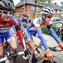 14-05-2016: Wielrennen: Ronde van Overijssel: Rijssen    <br />RIJSSEN (NED) wielrennen<br />Met 64 edities is de ronde van Overijssel een van de oudste wielerkoersen in Nederland. Marc Schreurs, Daan Schouten