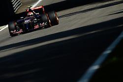06.09.2014, Autodromo di Monza, Monza, ITA, FIA, Formel 1, Grand Prix von Italien, Qualifying, im Bild Daniil Kvyat (RUS) Scuderia Toro Rosso STR9. // during the Qualifying of Italian Formula One Grand Prix at the Autodromo di Monza in Monza, Italy on 2014/09/06. EXPA Pictures © 2014, PhotoCredit: EXPA/ Sutton Images/ Lundin<br /> <br /> *****ATTENTION - for AUT, SLO, CRO, SRB, BIH, MAZ only*****