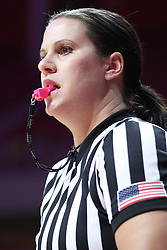 NORMAL, IL - February 10: Lindsey VanDyken<br />  during a college women's basketball Play4Kay game between the ISU Redbirds and the Indiana State Sycamores on February 10 2019 at Redbird Arena in Normal, IL. (Photo by Alan Look)