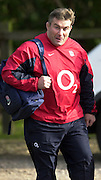 03/03/2004 Six Nations Rugby England Training- ENG v IRL. Pennyhill Park- Bagshot.Jason Leonard....   [Mandatory Credit, Peter Spurier/ Intersport Images].