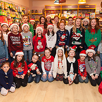 """Sarah Griffin School of Speech and Drama and Ennis Music Makers presented """"Santa Tales"""" in the Ennis Bookstore on Saturday Morning"""