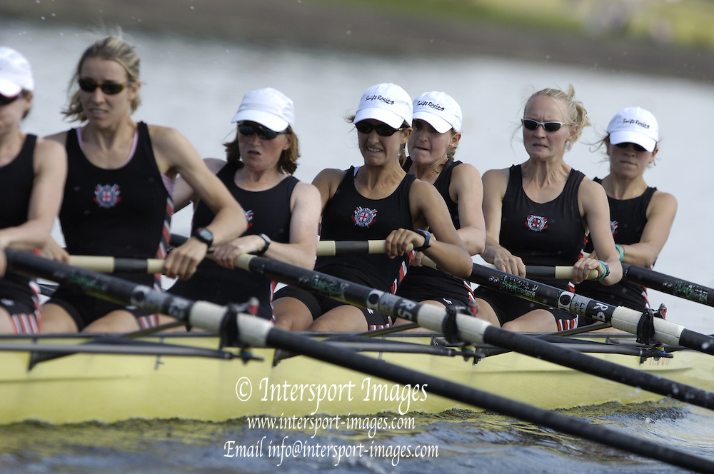 2006, National Rowing Championships,  OW8+ Thames RC, Strathclyde Country Park,  Motherwell, SCOTLAND. 15.07.2006.  Photo  Peter Spurrier/Intersport Images email images@intersport-images.com.... Rowing Course, Strathclyde Country Park,  Motherwell, SCOTLAND.