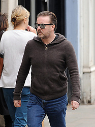 Ricky Gervais out and about in north London, UK. 11/06/2013<br />BYLINE MUST READ : GOTCHAIMAGES.COM<br /><br />Copyright by © Gotcha Images Ltd. All rights reserved.<br />Usage of this image is conditional upon the acceptance <br />of Gotcha Images Ltd, terms and conditions available at<br />www.gotchaimages.com
