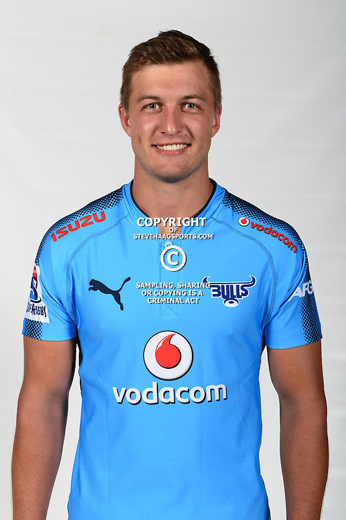 PRETORIA, SOUTH AFRICA - FEBRUARY 01: Handre Pollard of the Bulls poses during the Bulls Super Rugby headshots session on February 01, 2017 in Pretoria, South Africa. (Photo by Gallo Images/Getty Images)