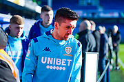 Leeds United midfielder Pablo Hernandez (19) arrives at the ground during the EFL Sky Bet Championship match between Queens Park Rangers and Leeds United at the Kiyan Prince Foundation Stadium, London, England on 18 January 2020.