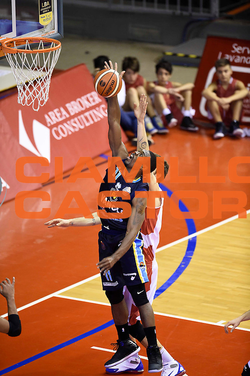 Paul Harris<br /> Grissin Bon Reggio Emilia - Vanoli Cremona<br /> Lega Basket Serie A 2016/2017<br /> Reggio Emilia, 08/01/2017<br /> Foto Ciamillo-Castoria