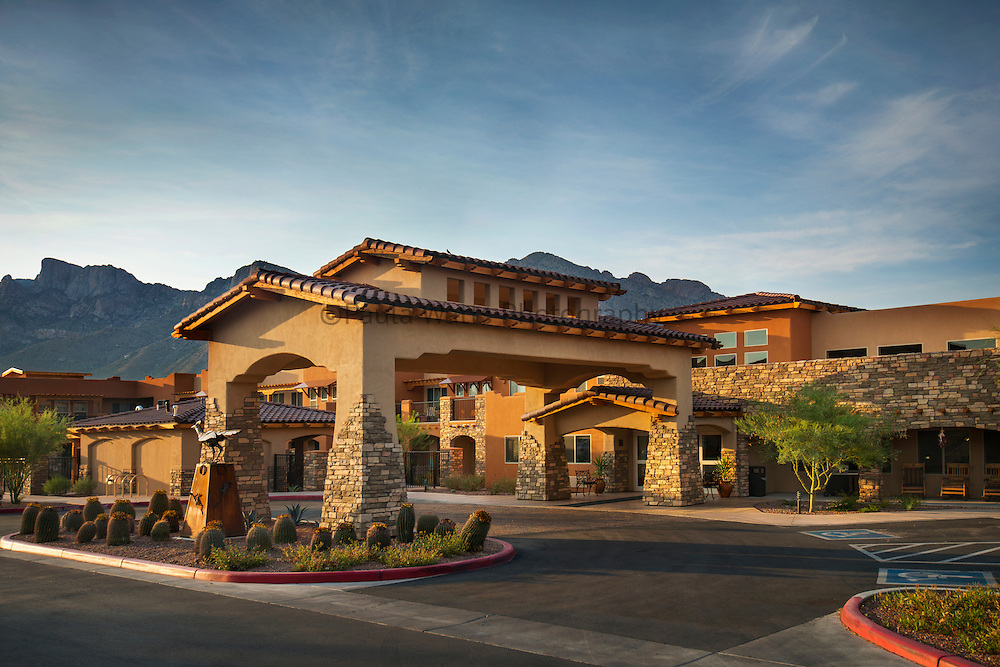 Assisted Living Facility Exterior Architecture