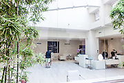 Bologna, the lobby at Hotel I Portici