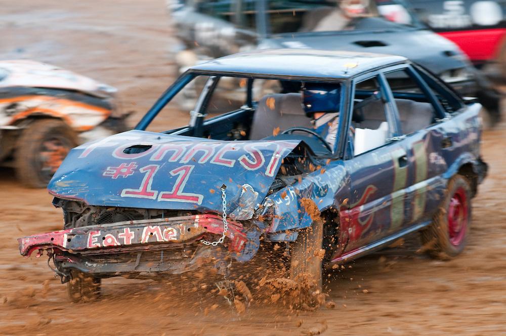 Silver Hill Lions Club Demolition Derby , Budds Creek Maryland