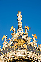 the basilic pazzia san marco saint mark place in the beautiful city of venice in italy