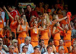 05.06.2010, Arena Stadium, Amsterdam, NLD, FIFA Worldcup Vorbereitung, Netherlands vs Hungaria, im Bild Dutch Orange fans.EXPA Pictures © 2010, PhotoCredit: EXPA/ nph/  Hoogendoorn / SPORTIDA PHOTO AGENCY