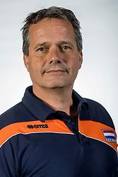 10-05-2017 NED: Selectie Nederlands volleybal team mannen 2017, Arnhem<br /> Op Papendal werd de selectie gepresenteerd / Coach Gido Vermeulen