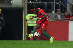 November 20, 2018 - Guimaraes, Guimaraes, Portugal - Bruma midfielder of Portugal in action during the UEFA Nations League football match between Portugal and Poland at the Dao Afonso Henriques stadium in Guimaraes on November 20, 2018. (Credit Image: © Dpi/NurPhoto via ZUMA Press)