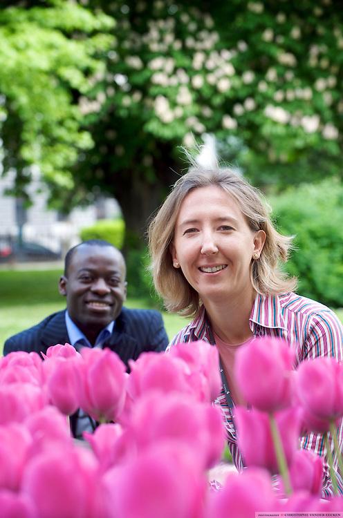 Brussels, Belgium, May 04, 2009, De Dagen van Anne-France Berger en.Pascal Hakizimana..©Christophe VANDER EECKEN