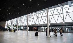 DK:<br /> 20180327, Herning, Danmark: <br /> Den nye ankomsthal i Jyske Bank Boxen i Herning.<br /> Foto: Lars M&oslash;ller<br /> UK: <br /> 20180327, Herning, Danmark: <br /> Den nye ankomsthal i Jyske Bank Boxen i Herning.<br /> Photo: Lars Moeller