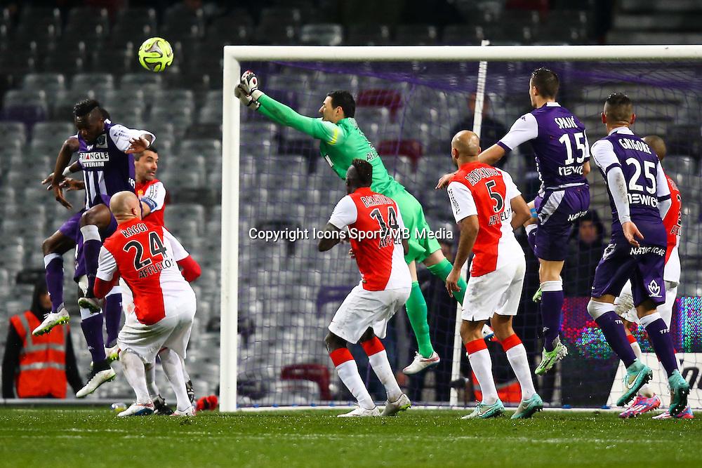 Danijel Subasic - 05.12.2014 - Toulouse / Monaco - 17eme journee de Ligue 1 -<br />Photo : Manuel Blondeau / Icon Sport