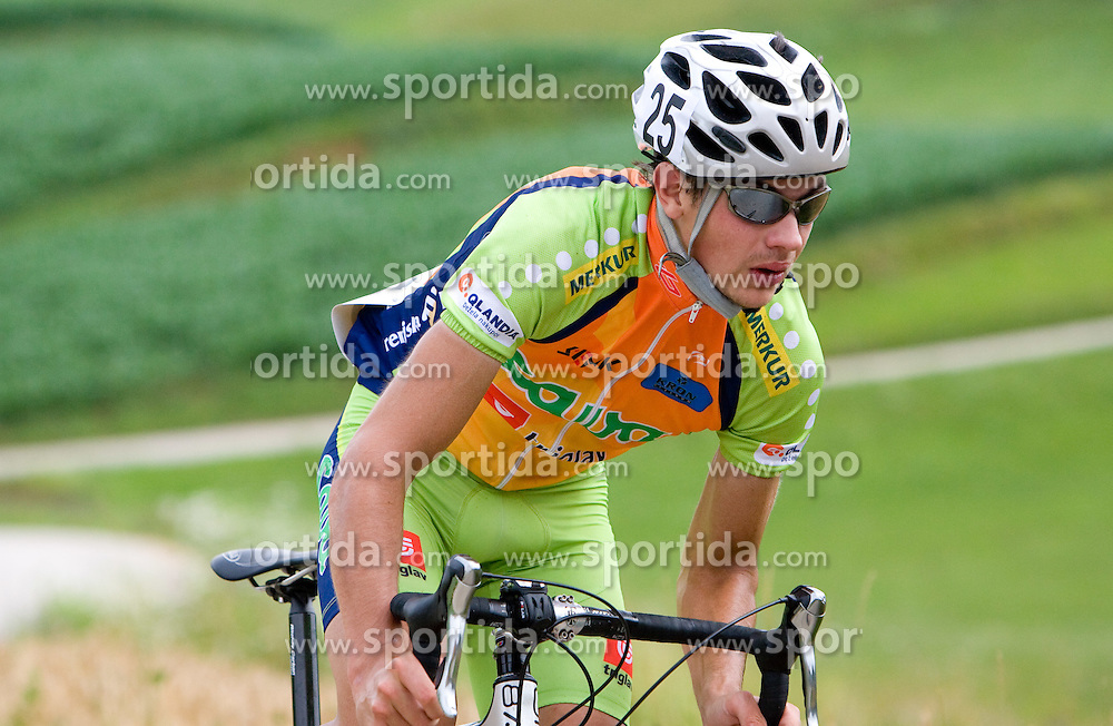 Matej Markun at Slovenian National Championships in Road cycling, 178 km, on June 28 2009, in Mirna Pec, Slovenia. (Photo by Vid Ponikvar / Sportida)