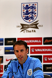 File photo dated 08-10-2013 of England's U21 Manager Gareth Southgate