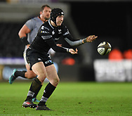 Ospreys' Sam Davies<br /> <br /> Photographer Mike Jones/Replay Images<br /> <br /> Guinness PRO14 Round Round 15 - Ospreys v Southern Kings - Friday 16th February 2018 - Liberty Stadium - Swansea<br /> <br /> World Copyright © Replay Images . All rights reserved. info@replayimages.co.uk - http://replayimages.co.uk