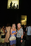 Sigrid Wilkinson and Andrea Schlieker,  Opening of new  Wilkinson gallery. Vyner St. London. E2. Party afterwards at Bistrotheque. 6 September 2007. -DO NOT ARCHIVE-© Copyright Photograph by Dafydd Jones. 248 Clapham Rd. London SW9 0PZ. Tel 0207 820 0771. www.dafjones.com.