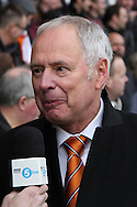 Picture by David Horn/Focus Images Ltd +44 7545 970036.16/02/2013.Nick Owen, Chairman of Luton Town before their game against Millwall in the The FA Cup match at Kenilworth Road, Luton.