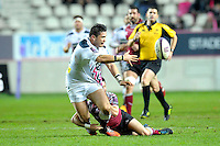 Raphael Lakafia - 11.12.2014 - Stade Francais / Newcastle Falcons - European Rugby Challenge Cup<br />Photo : Andre Ferreira / Icon Sport