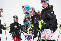 Gunstock Ski Club's Open Race 2nd run on December 29, 2013.  ©2013 Karen Bobotas Photographer
