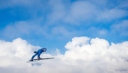 03.01.2016, Bergisel Schanze, Innsbruck, AUT, FIS Weltcup Ski Sprung, Vierschanzentournee, Probedurchgang, im Bild Elias Tollinger (AUT) // Elias Tollinger of Austria during his Trial Jump for the Four Hills Tournament of FIS Ski Jumping World Cup at the Bergisel Schanze, Innsbruck, Austria on 2016/01/03. EXPA Pictures © 2016, PhotoCredit: EXPA/ Jakob Gruber