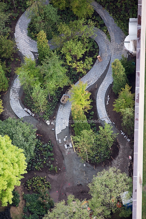 Monk's Garden, designed by Michael Van Valkenburgh Associates, next to the Isabella Stewart Gardner Museum