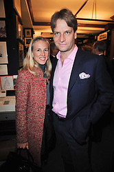 GEORG & EMILY VON OPEL at a party to celebrate the publication of Maryam Sach's novel 'Without Saying Goodbye' held at Sotheran's Bookshop, 2 Sackville Street, London on 10th November 2009.