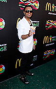 Toby Love attends the 2014 FIFA World Cup McDonald's Launch Party to celebrate the unveiling of the transformed McDonald's fry box at Pillars 38 in New York City, New York on June 05, 2014.