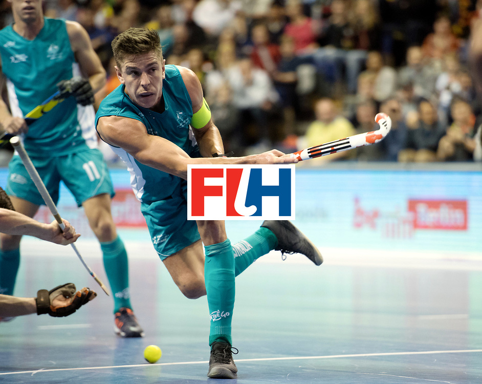 BERLIN - Indoor Hockey World Cup<br /> Bronze: Iran - Australia<br /> foto: Heath Ogilvie <br /> WORLDSPORTPICS COPYRIGHT FRANK UIJLENBROEK