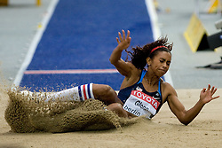 Brianna Glenn of USA competes in the women's Long Jump Qualification during day seven of the 12th IAAF World Athletics Championships at the Olympic Stadium on August 21, 2009 in Berlin, Germany.(Photo by Vid Ponikvar / Sportida)