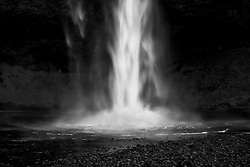 The watarfall, Seljalandsfoss, Iceland -