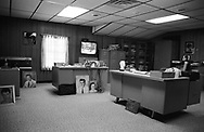 The office of Vernon Presley, father of Elvis, on the grounds of Graceland, Memphis, 2004