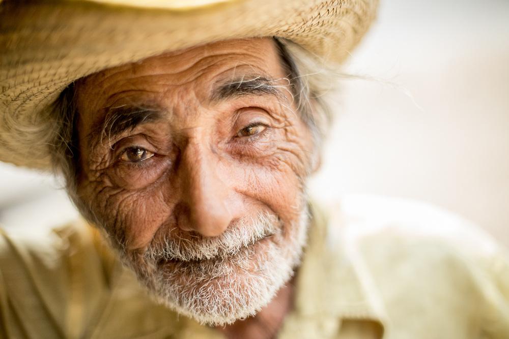 Homeless man in Honduras