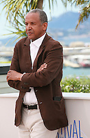 Abderrahmane Sissako at the photocall for the film Timbuktu at the 67th Cannes Film Festival, Thursday 15th May 2014, Cannes, France.