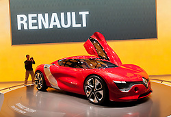 Renault,Dezir,concept,at the Geneva Motor Show 2011 Switzerland