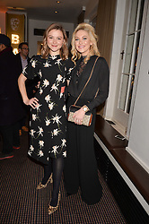 Left to right, Amber Atherton and Stephanie Pratt at the Debrett's 500 Party recognising Britain's 500 most influential people, held at BAFTA, 195 Piccadilly, London England. 23 January 2017.<br /> No UK magazines - contact www.silverhubmedia.com
